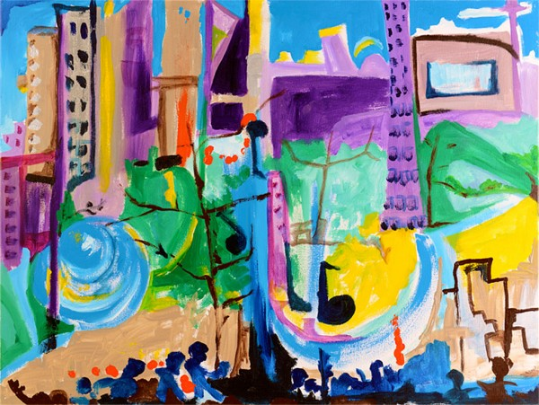 Rhapsody in the City by Nina Magness